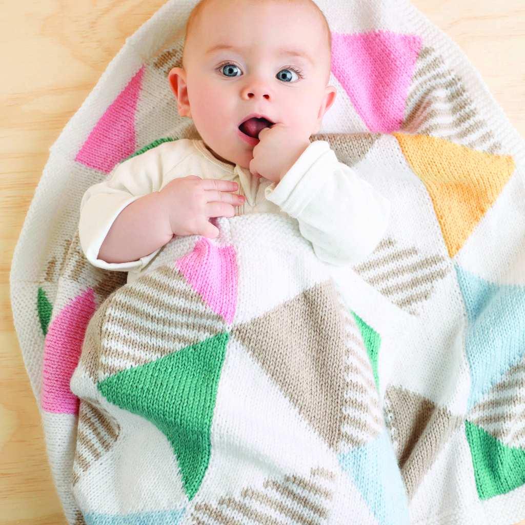Patons Big Baby - Triangle Rug