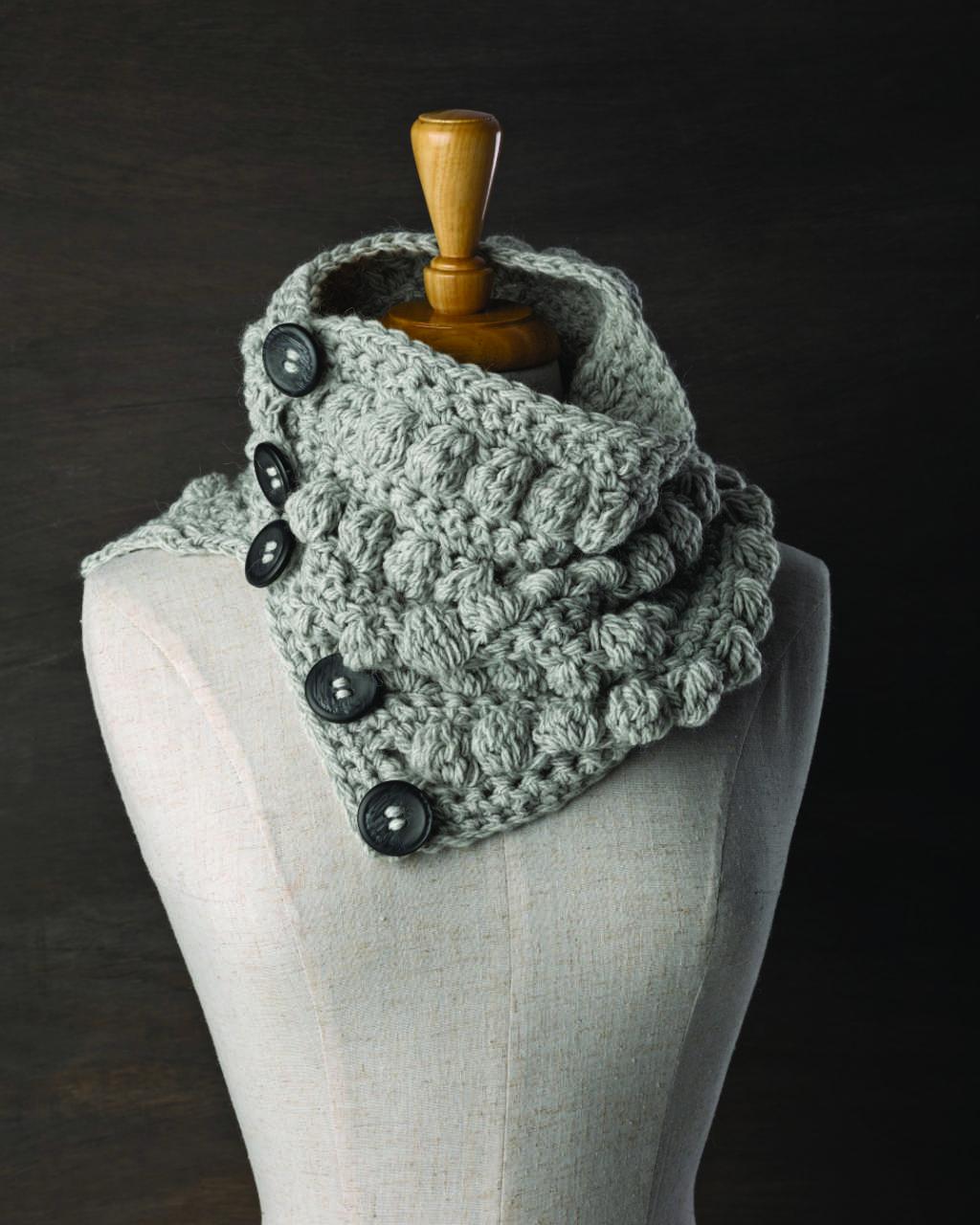 Patons Inca - Crochet Neck Warmer