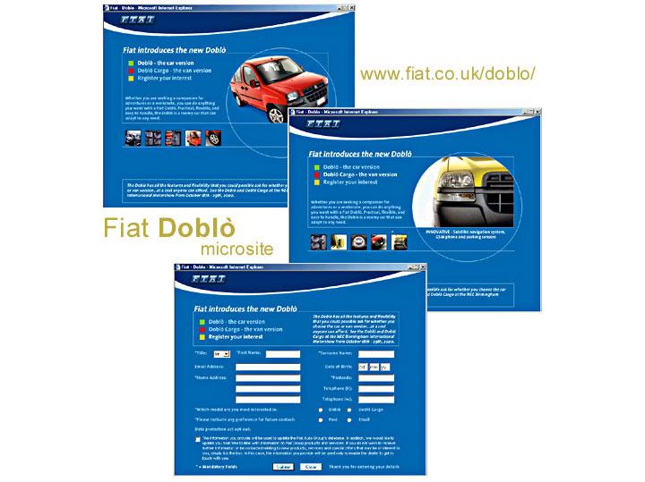Website - Fiat Doblo