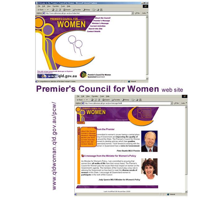 Website - Premier's Council for Women
