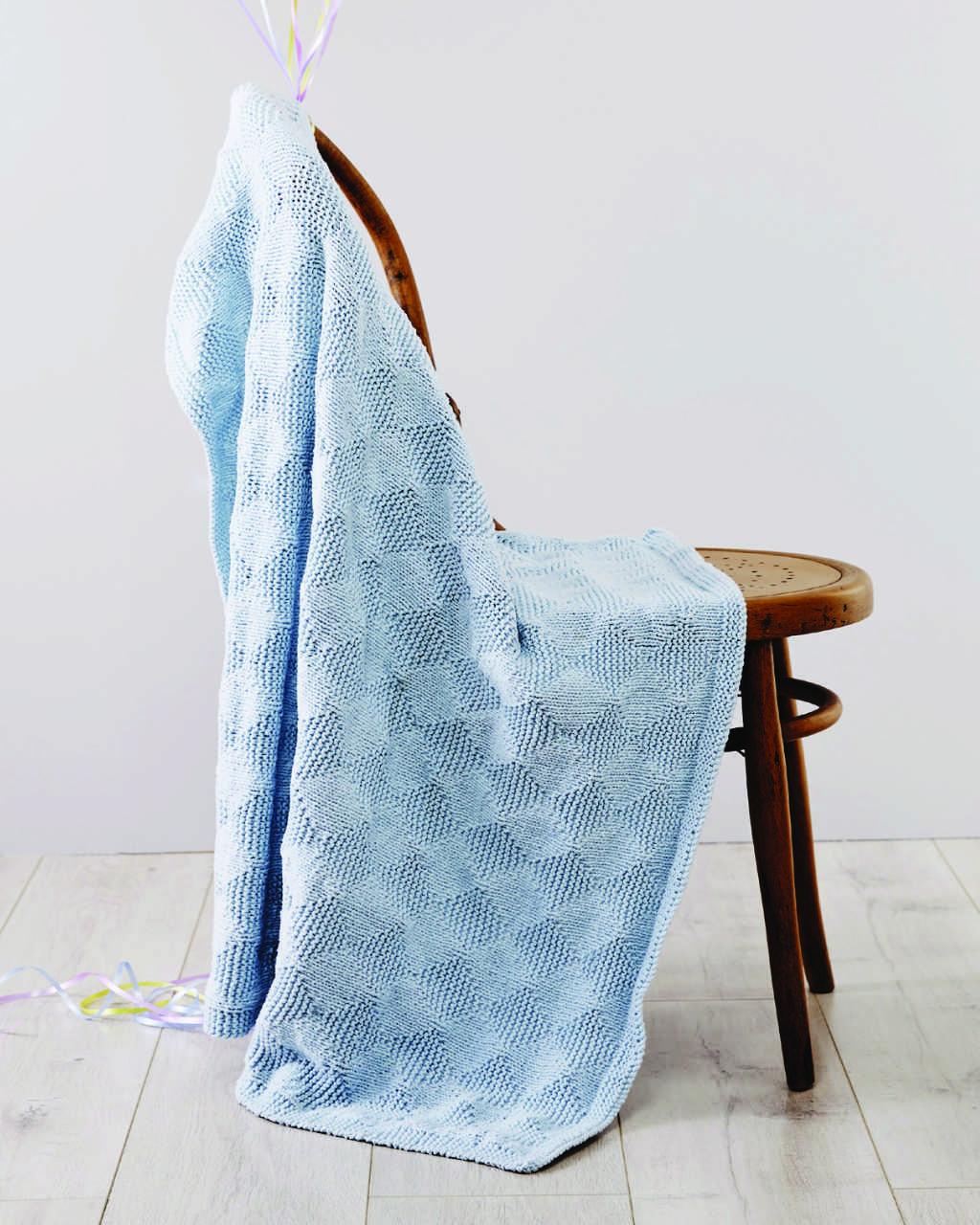 Cuddles - Diamond Stitch Blanket