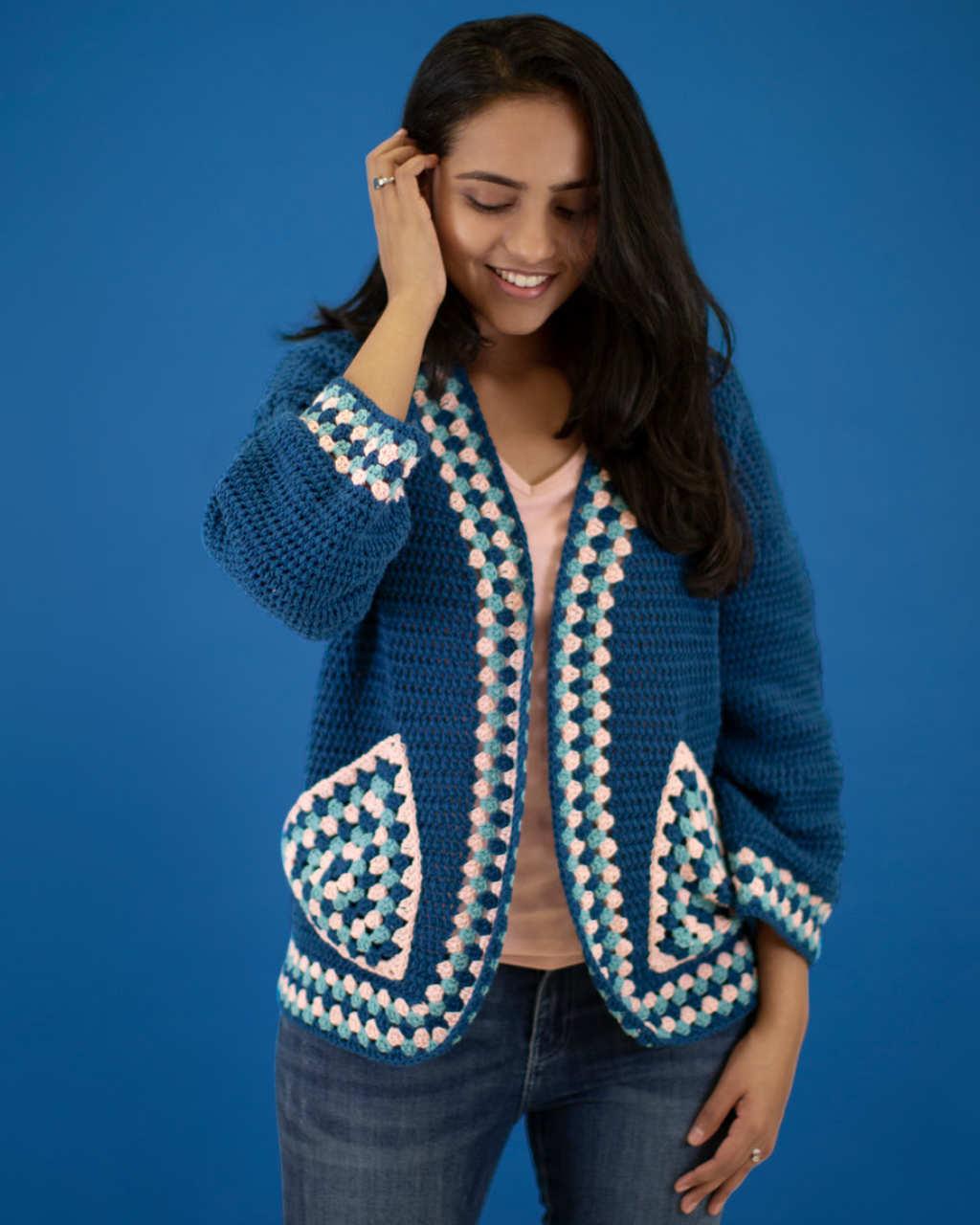 Cotton 8ply - Kimono Jacket