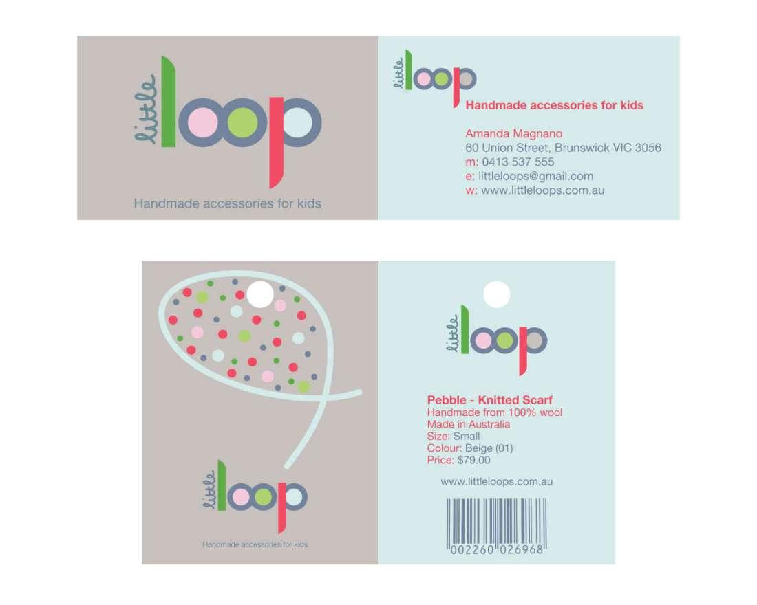 Little Loop - Business Card & Swing Tag