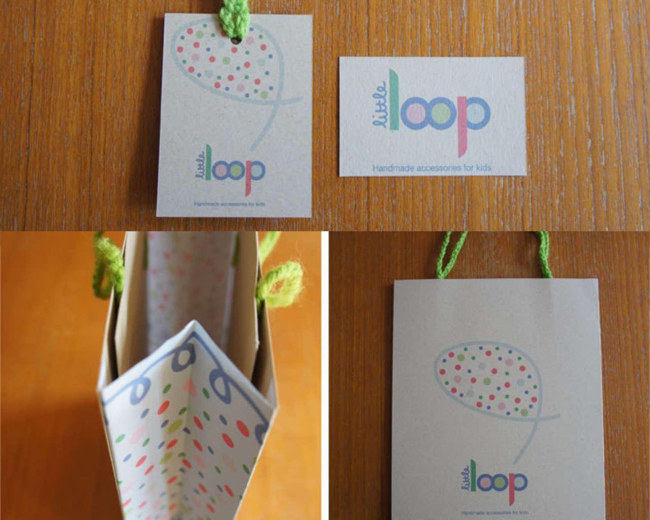 Little Loop - Swing Tag, Business Card & Bag