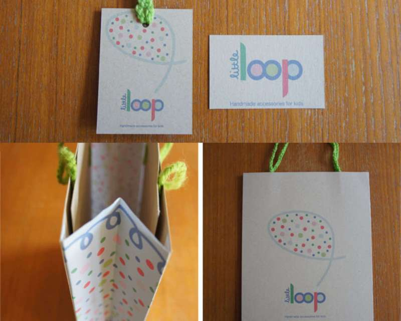 Little Loop - Swing Tag, Business Card & Bag